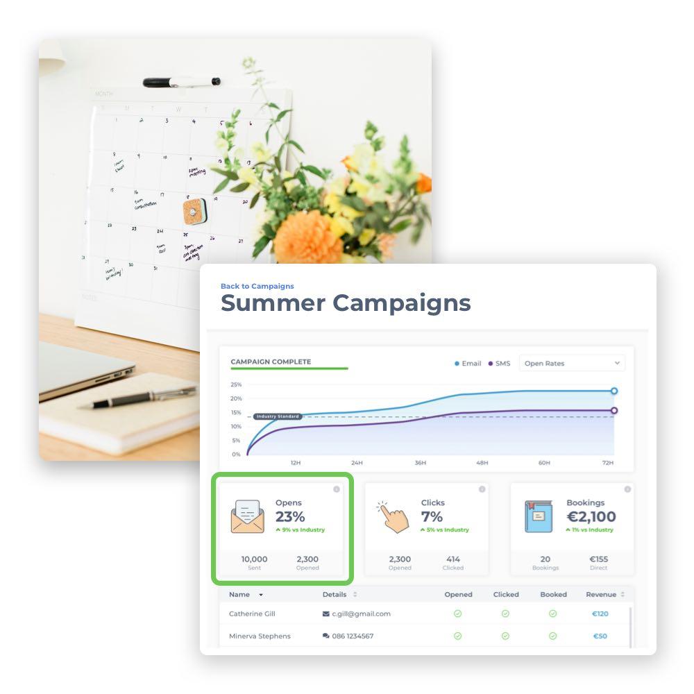 Mit einer guten Vorbereitung planst du schnell deine eigene Marketing-Strategie für deinen Salon. Die Phorest Salonsoftware hilft dir ganz einfach dabei.