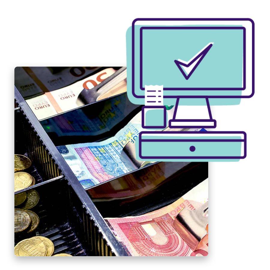 Das digitale Kassensystem ist ein Teil unserer vielfältigen Salonsoftware für Kosmetikstudios.