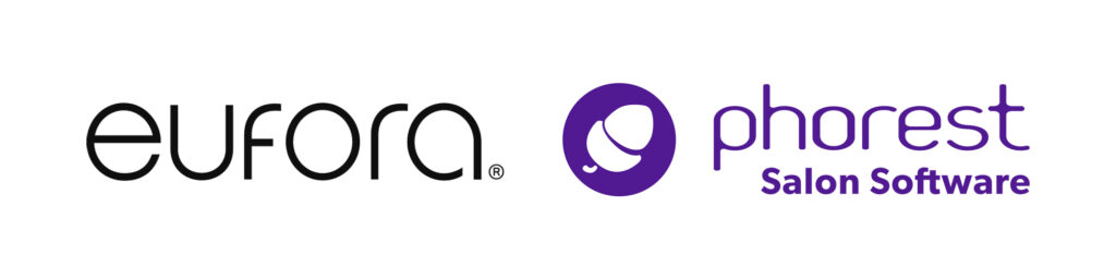Eufora & Phorest Salon Software logos