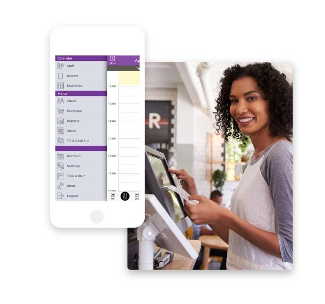 Phorest GO Terminplaner App für Friseure. Für iOS und Android.